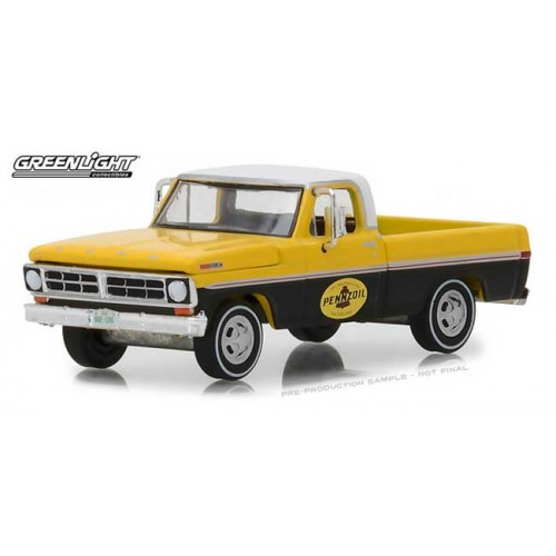 Greenlight Running on Empty Series 6 - 1972 Ford F-100 Truck Pennoil