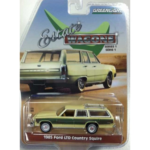Greenlight Estate Wagons Series 1 - 1985 Ford LTD Country Squire Green Machine
