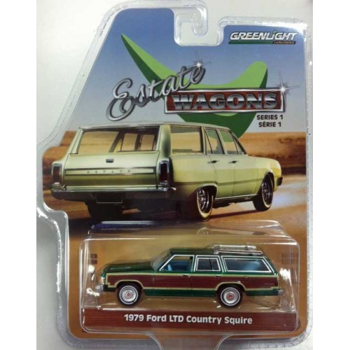 Greenlight Estate Wagons Series 1 - 1979 Ford LTD Country Squire Green Machine