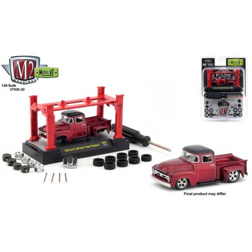 M2 Machines Model-Kits Release 20 - Foose 1956 Ford F-100 Truck