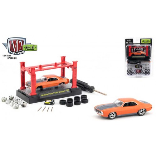 M2 Machines Model-Kits Release 20 - Foose 1969 Chevy Camaro