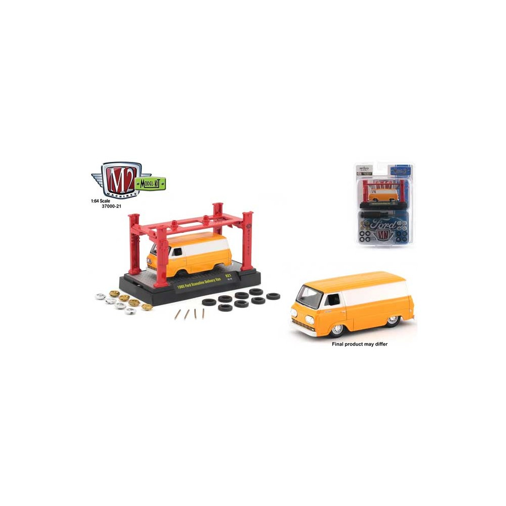 M2 Machines Model-Kits Release 21 - 1965 Ford Econoline Delivery Van
