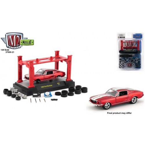 M2 Machines Model-Kits Release 21 - 1968 Ford Mustang