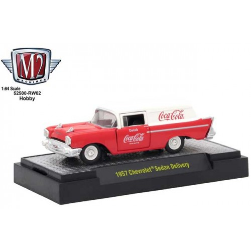 M2 Machines Coca-Cola - 1957 Chevy Sedan Delivery