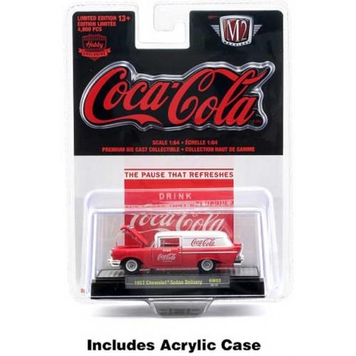 M2 Machines Coca-Cola - 1957 Chevy Sedan Delivery