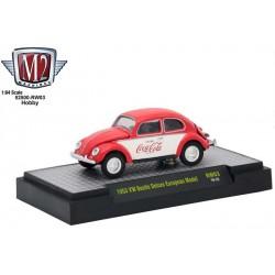 M2 Machines Coca-Cola - 1953 Volkswagen Beetle Deluxe