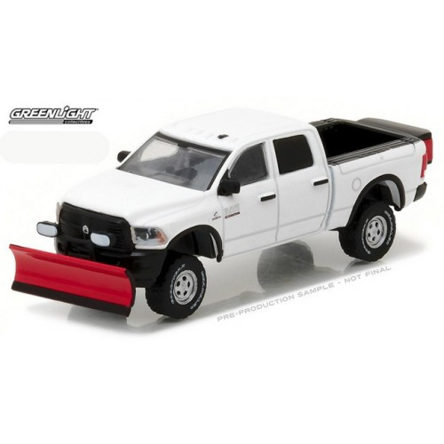 Blue Collar Series 2 - 2016 Dodge RAM 2500 Pickup with Snow Plow