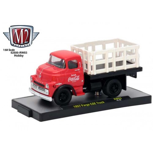 M2 Machines Coca-Cola - 1957 Fargo COE Truck