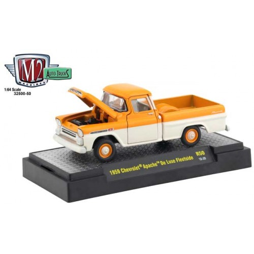 M2 Machines Auto-Trucks Release 50 - 1959 Chevy Apache De Luxe