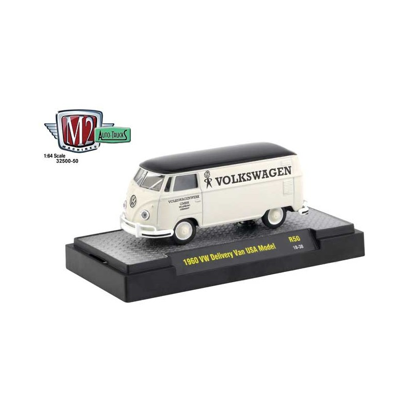 1f02d9a6a6 M2 Machines Auto-Trucks Release 50 - 1960 Volkswagen Delivery Van