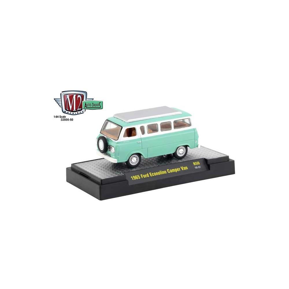 M2 Machines Auto-Trucks Release 50 - 1965 Ford Econoline Camper Van
