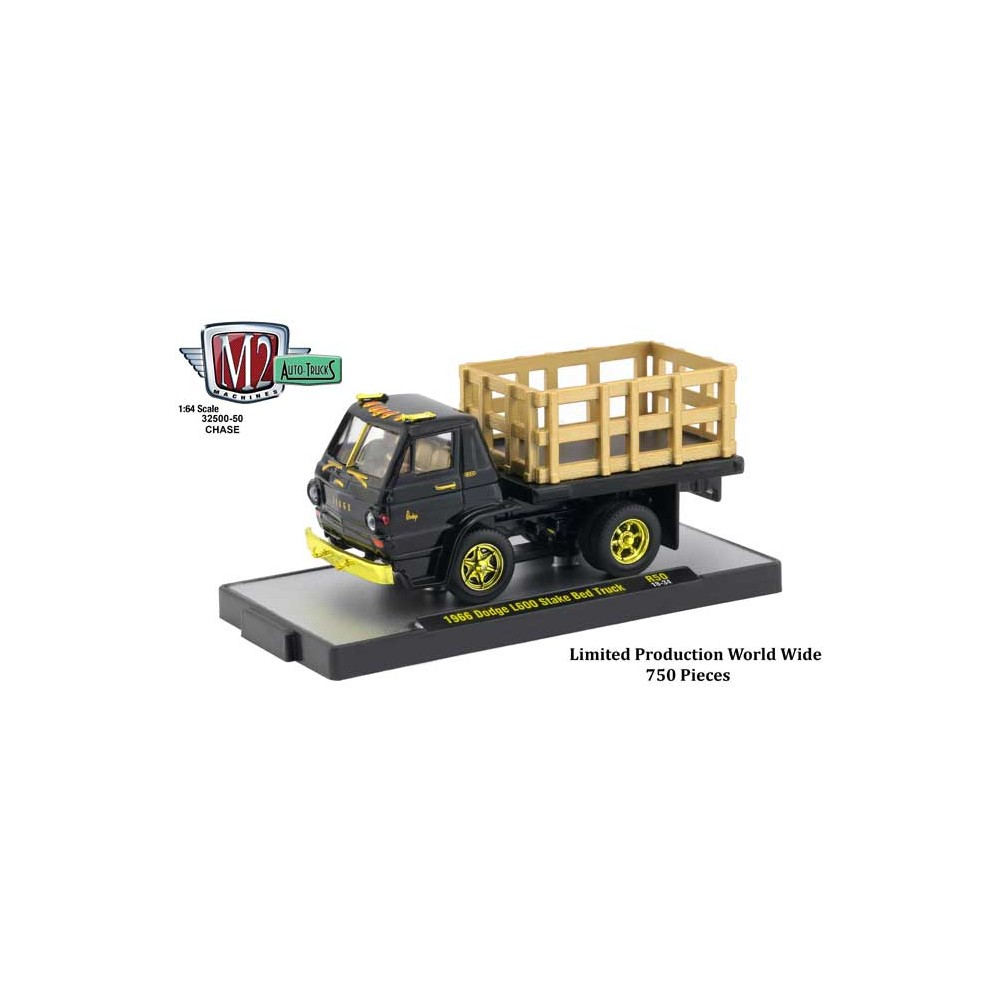 M2 Machines Auto-Trucks Release 50 - 1966 Dodge L600 Chase Version