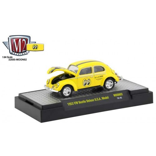 M2 Machines Mooneyes Release 2 - 1953 Volkswagen Beetle
