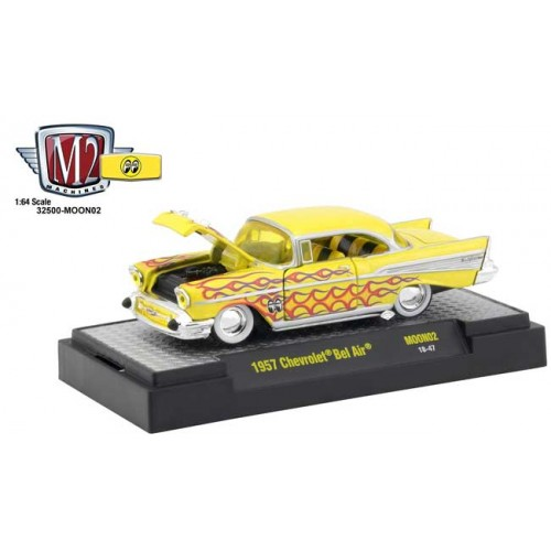 M2 Machines  Mooneyes Release 2 - 1957 Chevy Bel Air