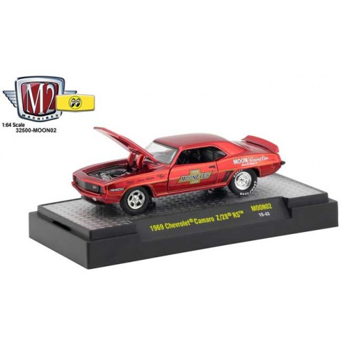 M2 Machines Mooneyes Release 2 - 1969 Chevy Camaro Z/28 RS