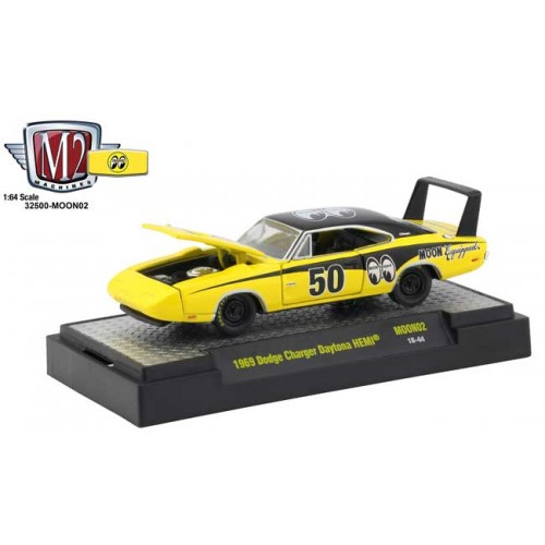 M2 Machines Mooneyes Release 2 - 1969 Dodge Charger Daytona HEMI