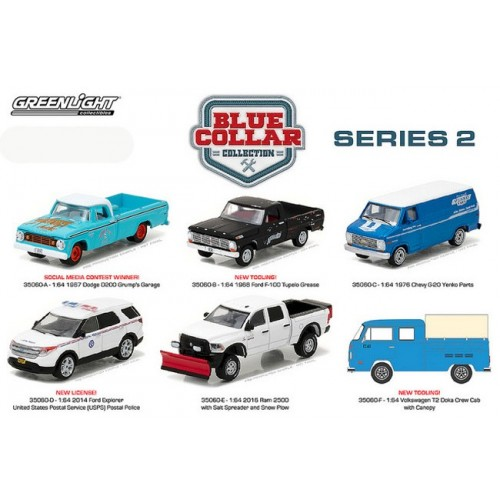Blue Collar Series 2 - Set