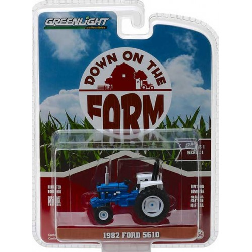 Greenlight Down on the Farm Series 1 - 1982 Ford 5610 Tractor