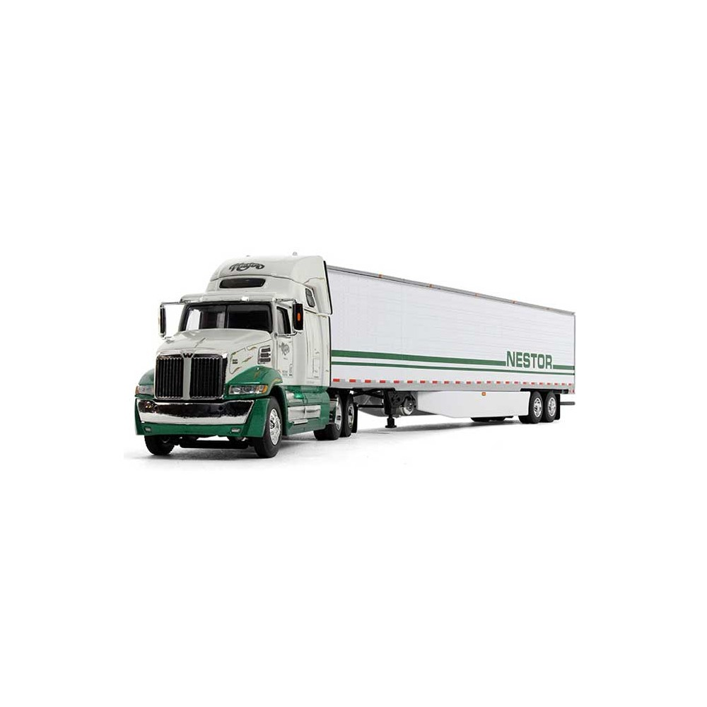 DCP Western Star 5700 XE with Refrigerated Trailer Nestor
