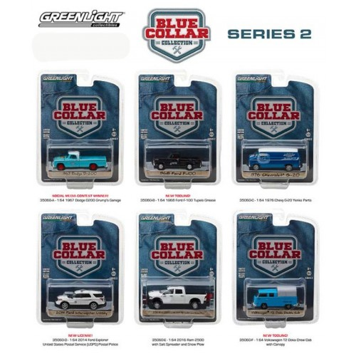 Greenlight Blue Collar Series 2 - Set