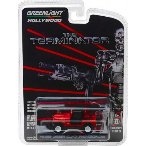 Greenlight Hollywood Series 21 - 1983 Jeep CJ-7 Renegade