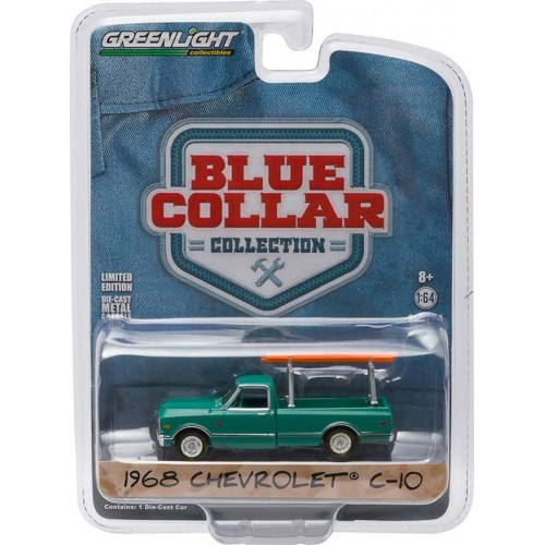 Greenlight Blue Collar Series 1 - 1968 Chevy C-10 Pickup Truck