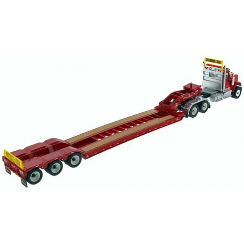 Diecast Masters International HX520 with XL 120 Lowboy Trailer