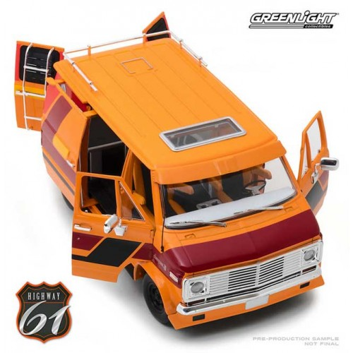 Greenlight Highway 61 - 1976 Chevy G-Series Van