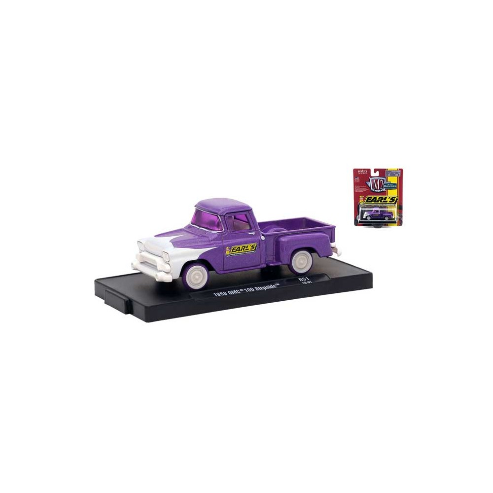 M2 Machines Drivers Release 51 - 1958 GMC 100 Stepside Chase Version