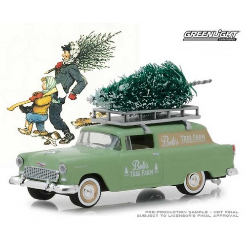 Greenlight Norman Rockwell Delivery Vehicles Series 1 - 1955 Chevy Sedan Delivery