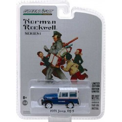 Greenlight Norman Rockwell Delivery Vehicles Series 1 - 1971 Jeep DJ-5