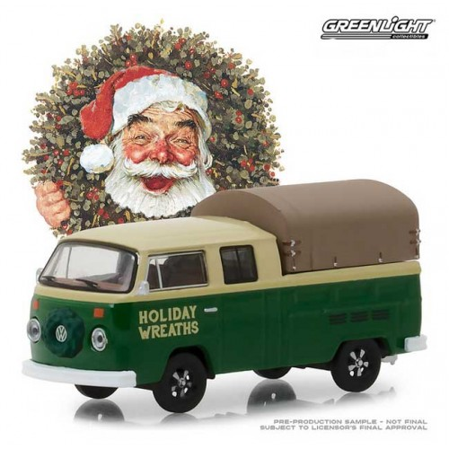 Greenlight Norman Rockwell Delivery Vehicles Series 1 - 1978 Volkswagen Double Cab Pickup