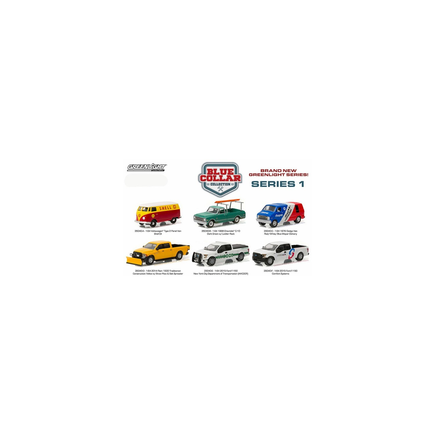 38 Hot Pursuit Series 22 Set as well 1715 together with 38 Hot Pursuit Series 22 Set further 94 Blue Collar Series 1 Six Truck Set further  on diecast promotions trucks 1 64