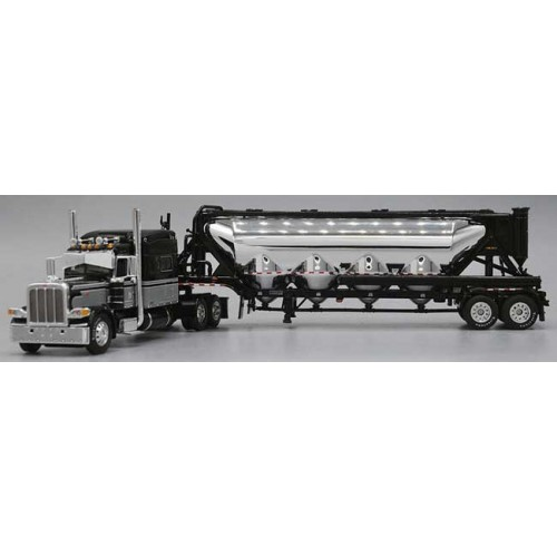 DCP Peterbilt 389 with Pneumatic Vac Tanker Trailer