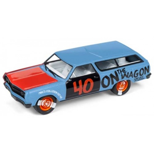 Johnny Lightning Demolition Derby - 1965 Chevy Station Wagon