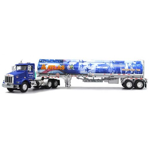 DCP Kenworth T800 Day Cab with Heil Fuel Tanker Trailer