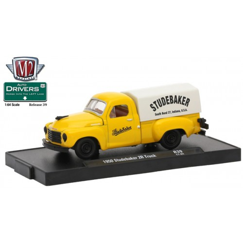 M2 Machines Drivers Release 39 -1950 Studebaker 2R Truck