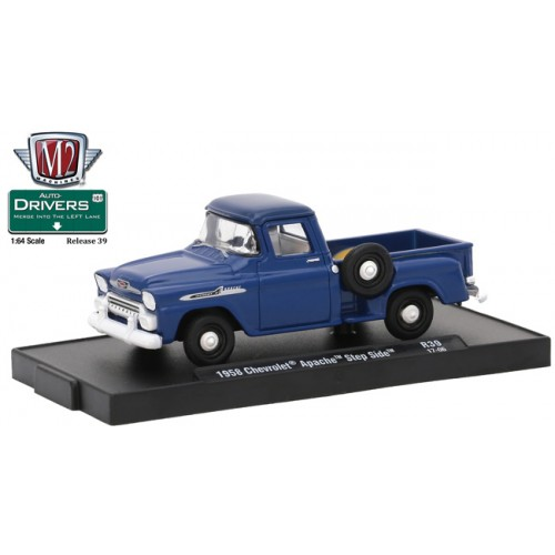M2 Machines Drivers Release 39 - 1958 Chevrolet Apache Step Side