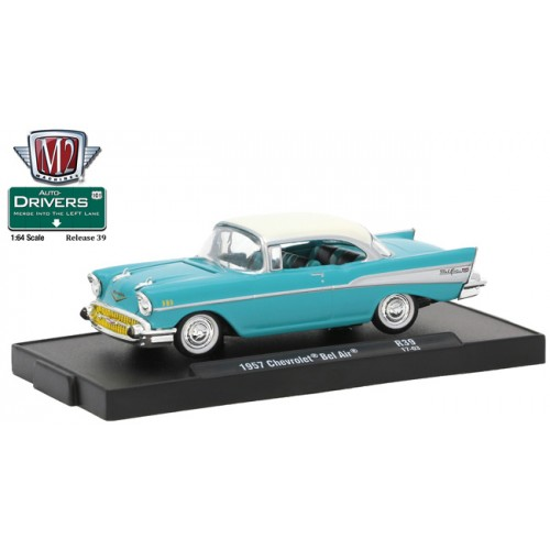 M2 Machines Drivers Release 39 - 1957 Chevrolet Bel Air