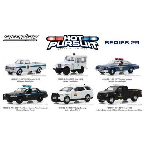 Greenlight Hot Pursuit Series 29 -  Six Car Set
