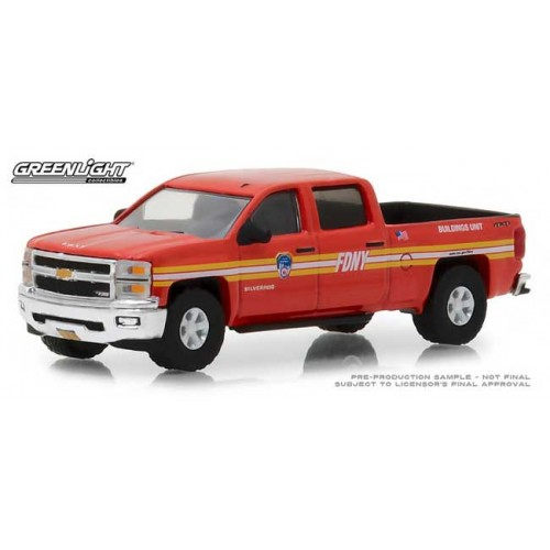Greenlight Hobby Exclusive - 2015 Chevy Silverado FDNY