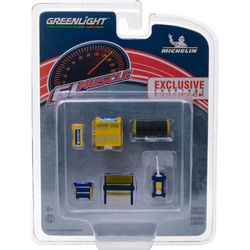 Greenlight GL Muscle Shop Tools - Michelin Tires