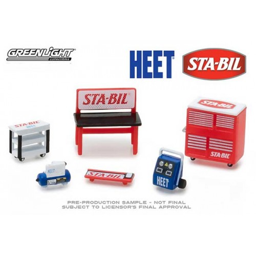 Greenlight GL Muscle Shop Tools - STA-BIL and Heet