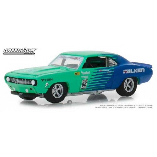 Greenlight Hobby Exclusive - 1969 Chevy Camaro Falken Tires