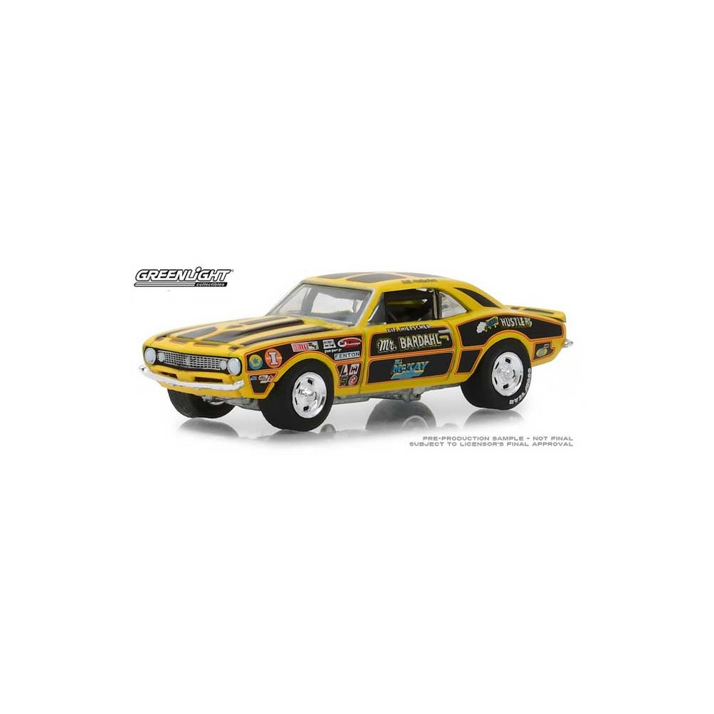 Greenlight Hobby Exclusive - 1967 Chevy Camaro 427 Mr. Bardahl II