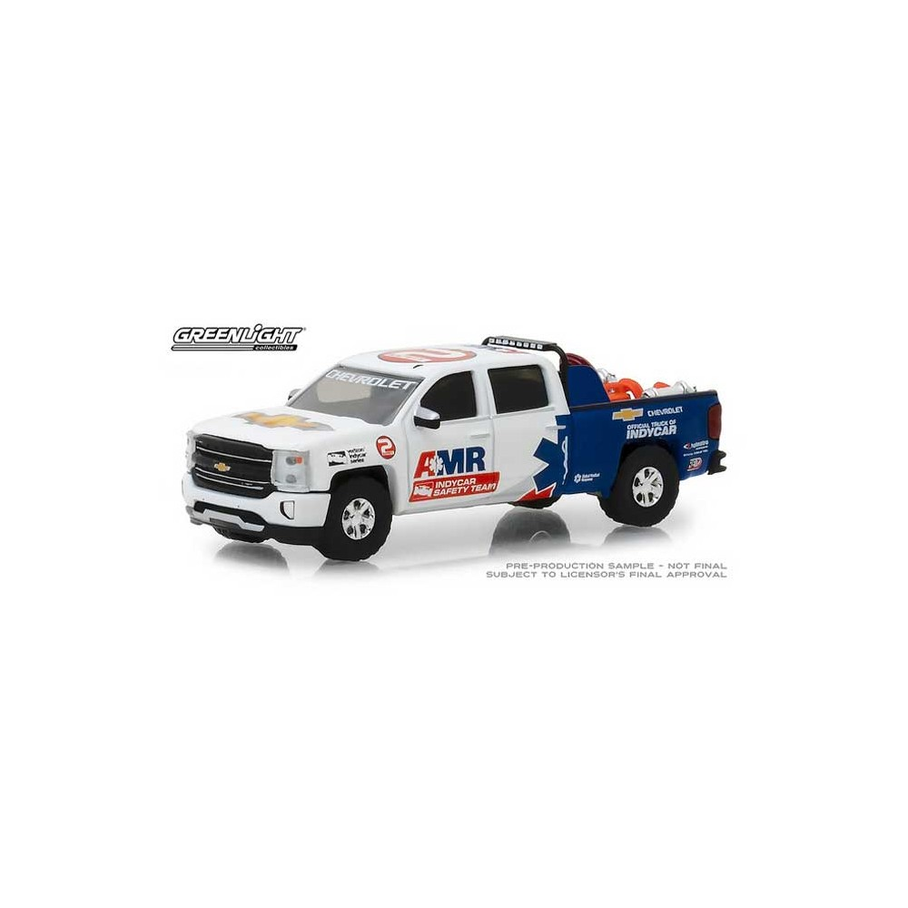 Greenlight Hobby Exclusive - 2018 Chevrolet Silverado AMR Safety Team