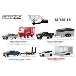 Greenlight Hitch and Tow Series 15 - SET