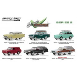 Greenlight Estate Wagons Series 2 - Six Car Set
