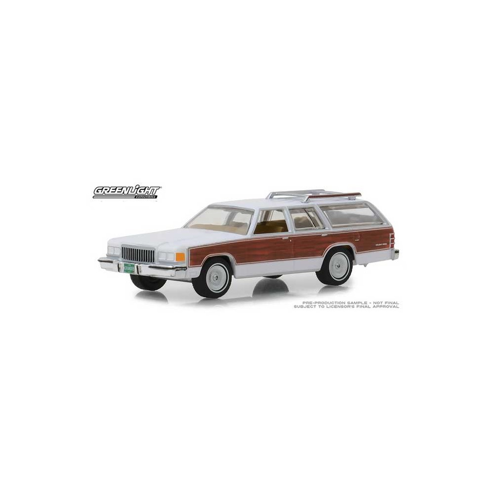 Greenlight Estate Wagons Series 2 - 1989 Mercury Grand Marquis Colony Park