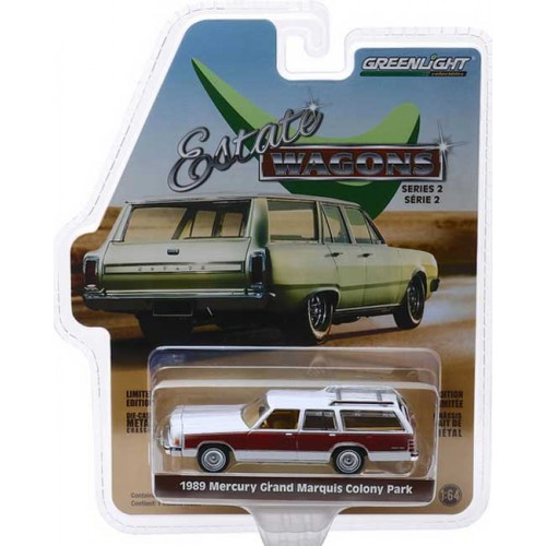 Greenlight Estate Wagons Series 2 - 1989 Mercury Grand Marquis Colony Park